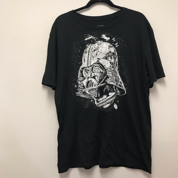 STAR WARS Darth Vader Helmet Black t-shirt…